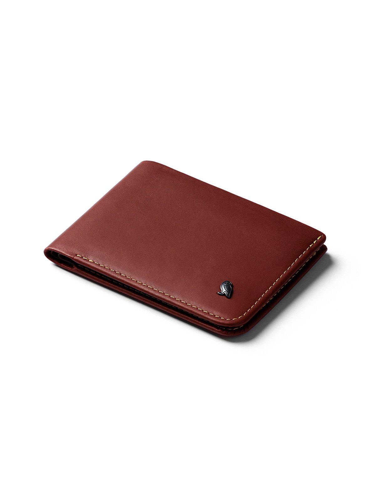 Bellroy Hide and Seek Wallet Red Earth RFID - MORE by Morello Indonesia