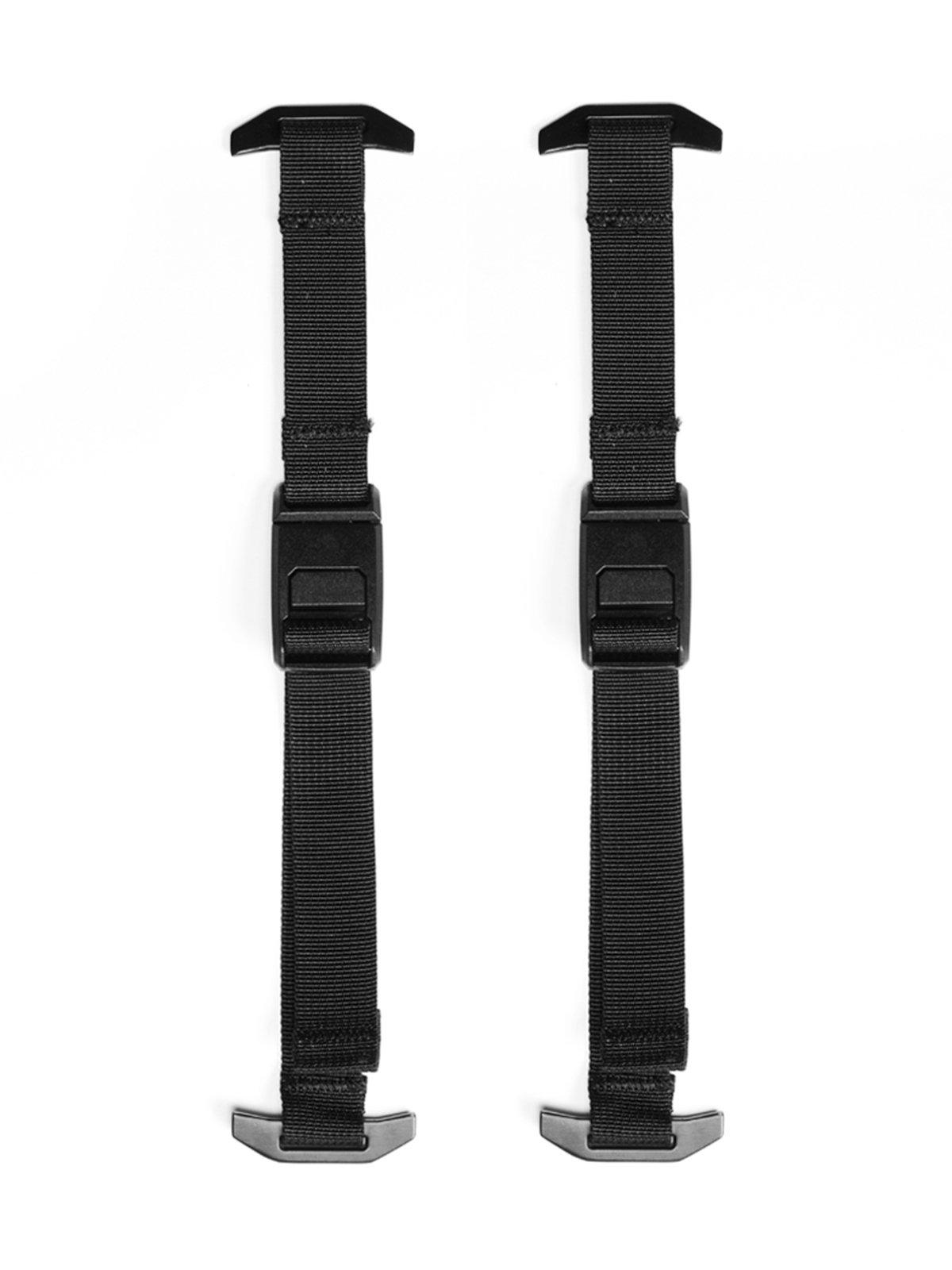 Black Ember Forge Maglock Compression Straps Jet Black (Set of 4)