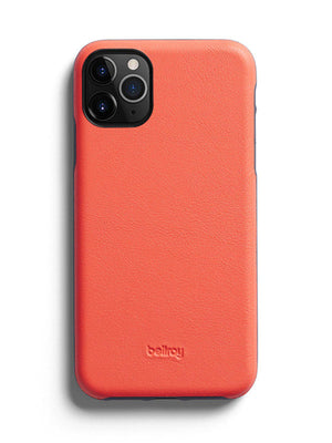 Bellroy Leather Phone Case for iPhone 11 Pro Coral - MORE by Morello Indonesia