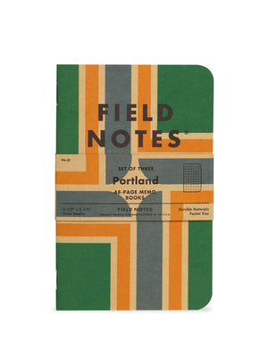 Field Notes Portland 3 Pack Graph Paper - MORE by Morello Indonesia