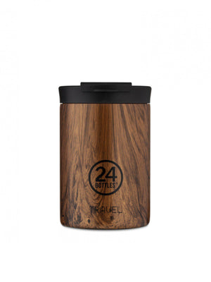 24Bottles Travel Tumbler Sequoia Wood 350ml - MORE by Morello - Indonesia