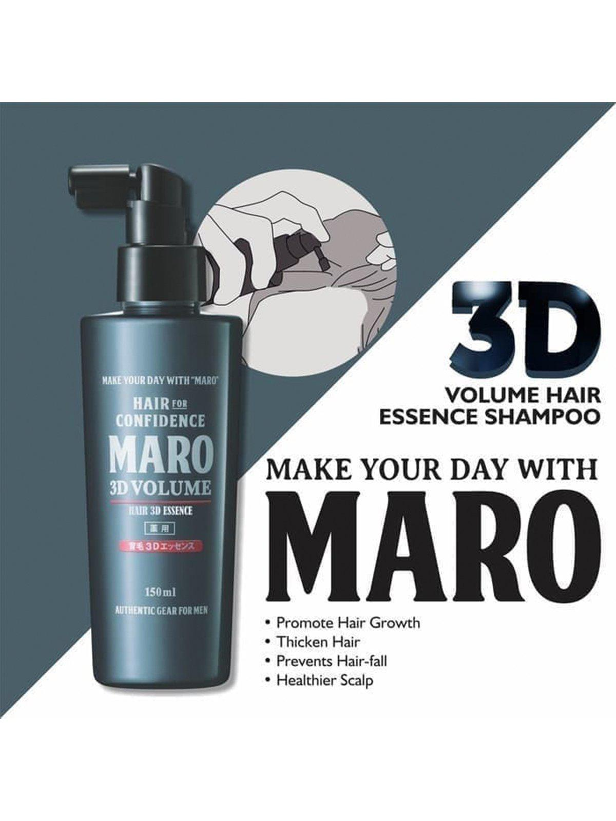 MARO 3D Volume Hair Essence 150ml - MORE by Morello - Indonesia