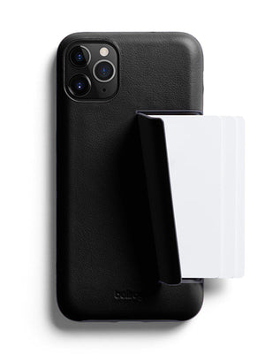 Bellroy Leather Phone Case 3 Card for iPhone 11 Pro Black - MORE by Morello Indonesia