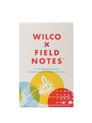 Field Notes Wilco 6 Pack Dot Graph Paper - MORE by Morello Indonesia
