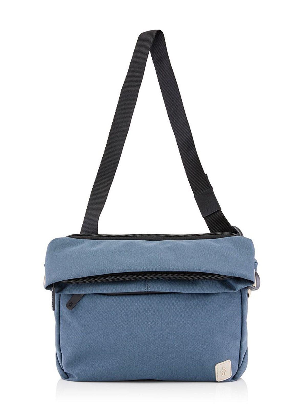 Crumpler Mini Rocket Roll Top Messenger Blue Lead - MORE by Morello Indonesia
