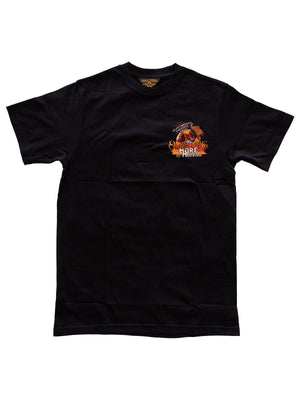 Oldblue Co. x MORE by Morello Tee The Barnburner Black - MORE by Morello - Indonesia