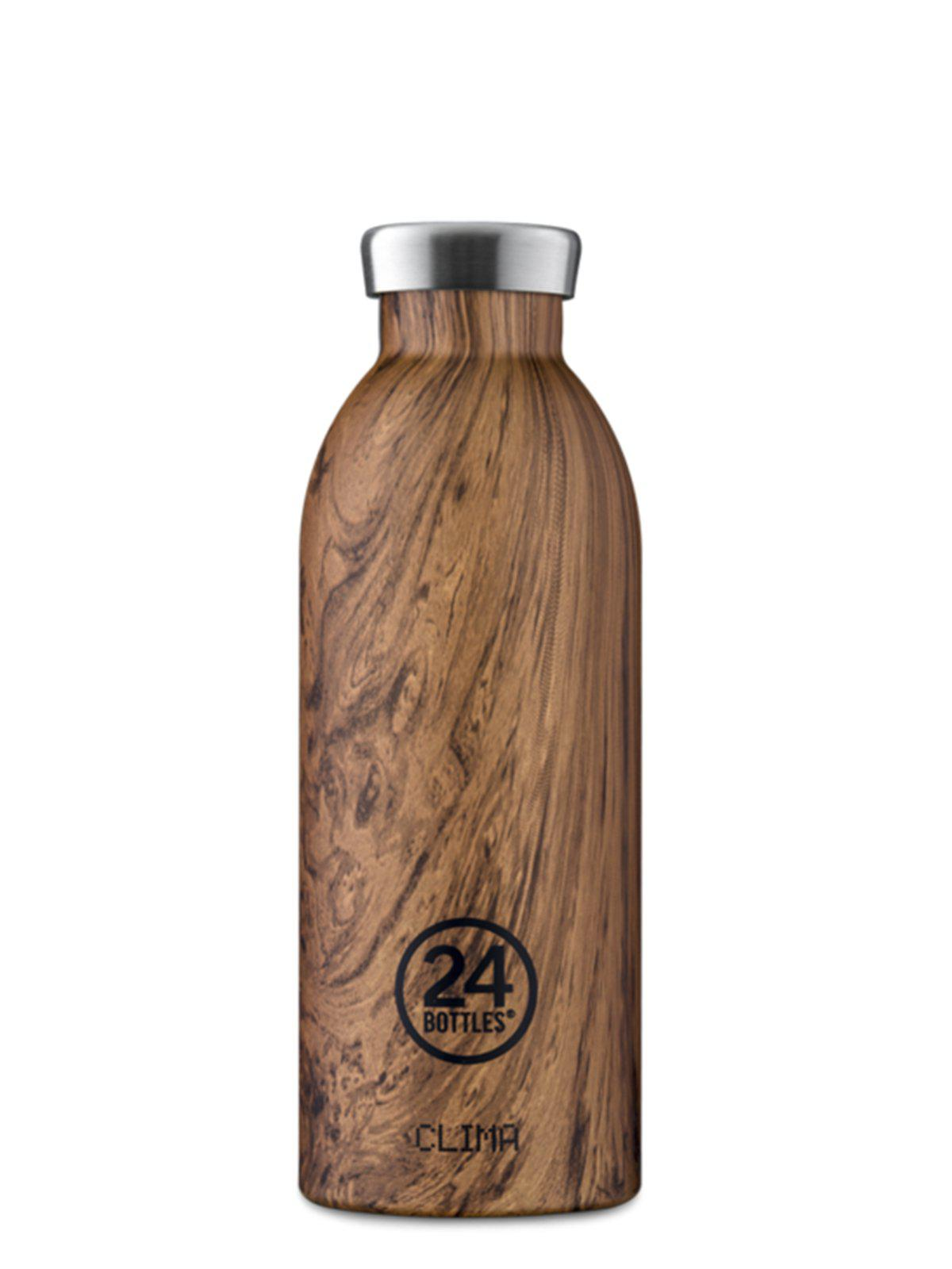 24Bottles Clima Bottle Sequoia Wood 500ml - MORE by Morello Indonesia