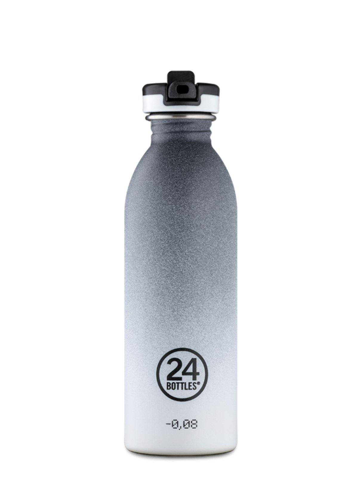24Bottles Urban Bottle With Sports Lid Tempo Grey 500ml - MORE by Morello Indonesia