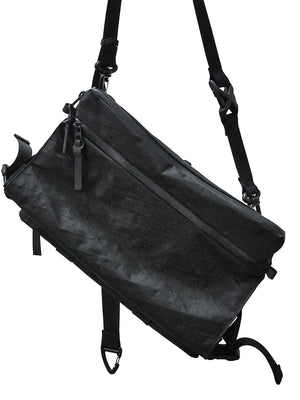 Code Of Bell ANNEX Liner Sacoche Sling Bag Pitch Black - MORE by Morello Indonesia