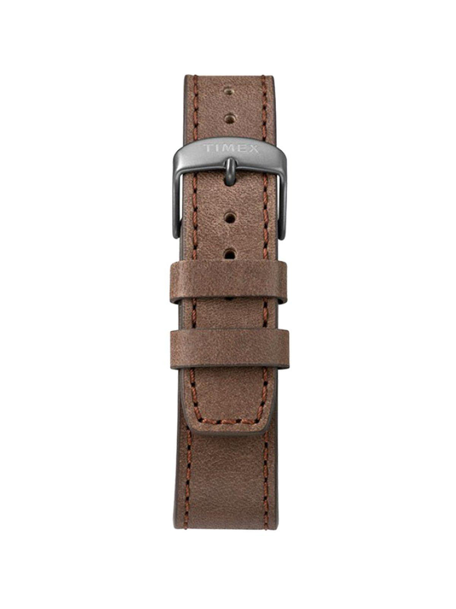 Timex Allied LT Chronograph TW2T32800 42mm Leather Strap Watch - MORE by Morello - Indonesia