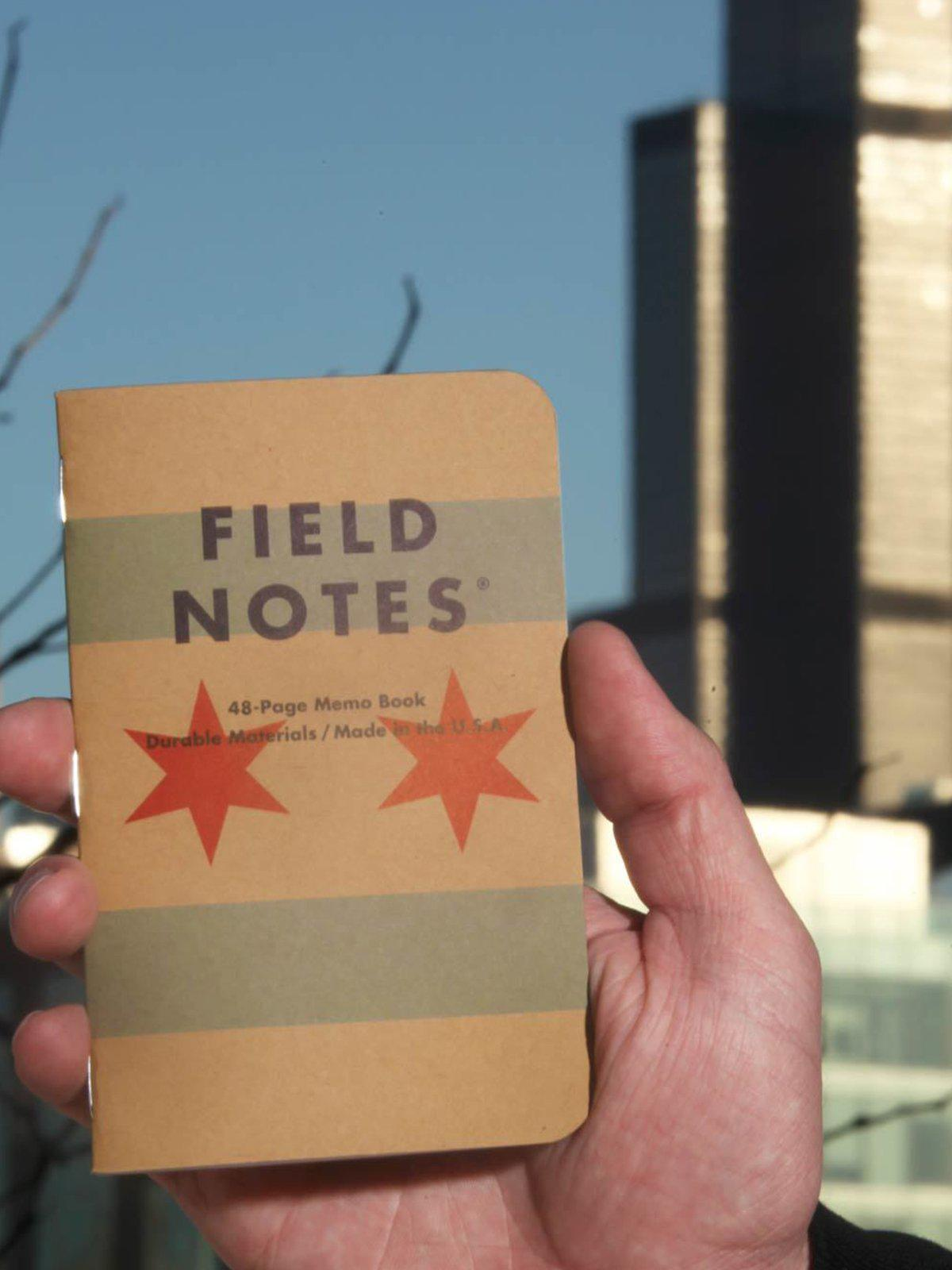 Field Notes Chicago 3 Pack Graph Paper - MORE by Morello Indonesia