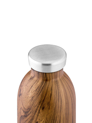 24Bottles Clima Bottle Sequoia Wood 500ml - MORE by Morello - Indonesia