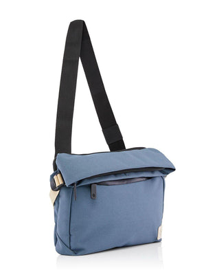 Crumpler Mini Rocket Roll Top Messenger Blue Lead - MORE by Morello - Indonesia