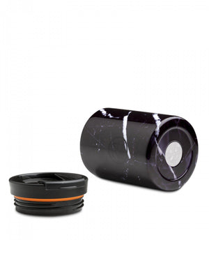 24Bottles Travel Tumbler Black Marble 350ml - MORE by Morello - Indonesia