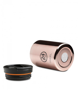 24Bottles Travel Tumbler Rose Gold 350ml - MORE by Morello Indonesia