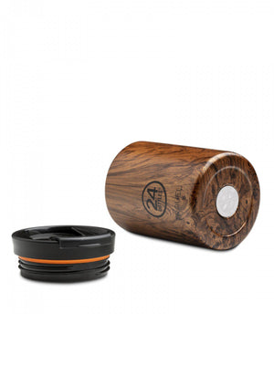 24Bottles Travel Tumbler Sequoia Wood 600ml - MORE by Morello - Indonesia