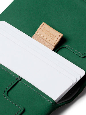 Bellroy Slim Sleeve Wallet Racing Green - MORE by Morello Indonesia