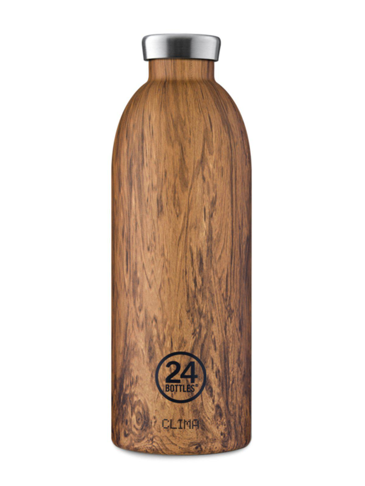 24Bottles Clima Bottle Sequoia Wood 850ml