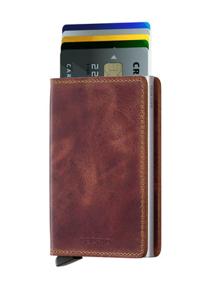 Secrid Slimwallet Vintage Brown