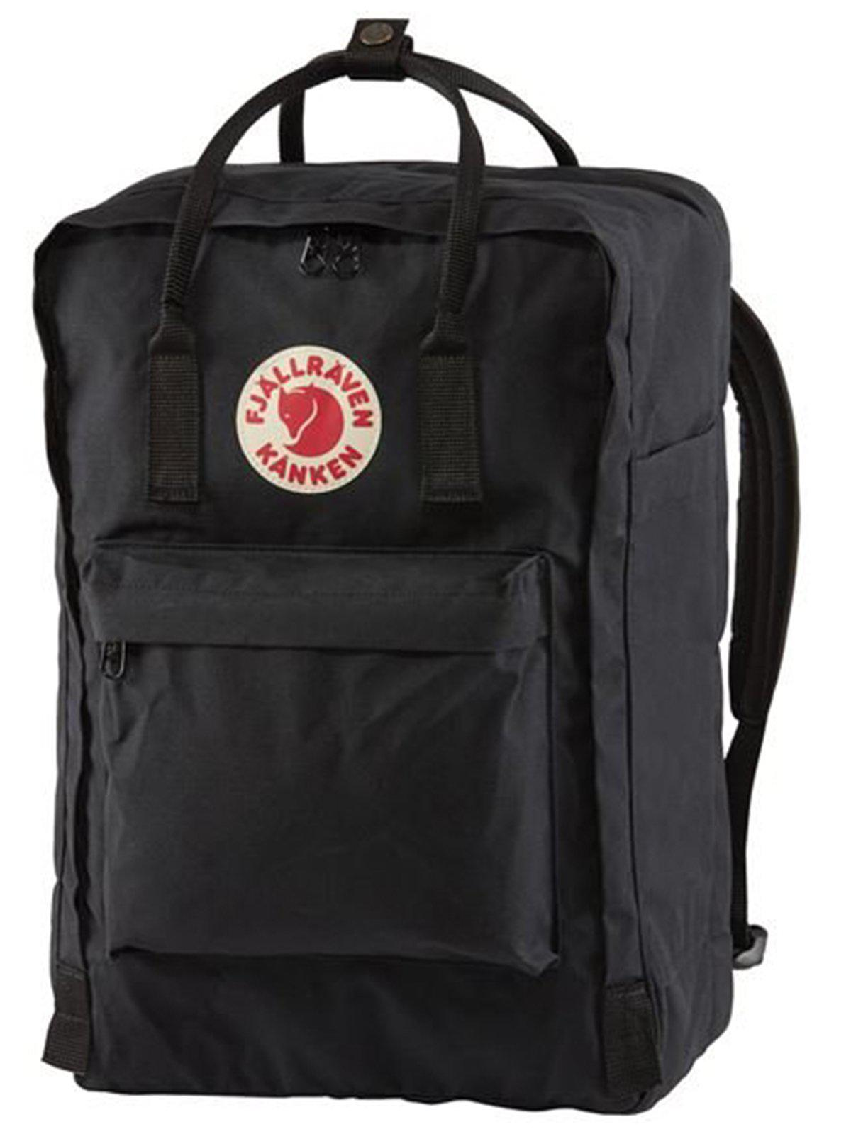 Fjallraven Kanken Laptop 17 Inch Black - MORE by Morello Indonesia