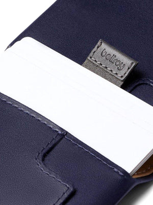 Bellroy Slim Sleeve Wallet Navy - MORE by Morello Indonesia