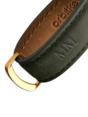 Orbitkey Crazy Horse Leather Forest Green/Green