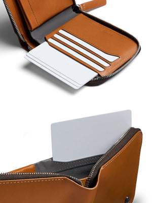 Bellroy Zip Wallet Caramel RFID - MORE by Morello Indonesia