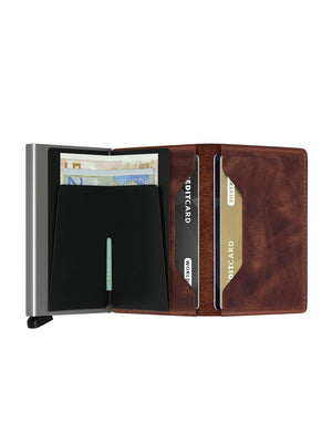 Secrid Slimwallet Vintage Brown - MORE by Morello - Indonesia