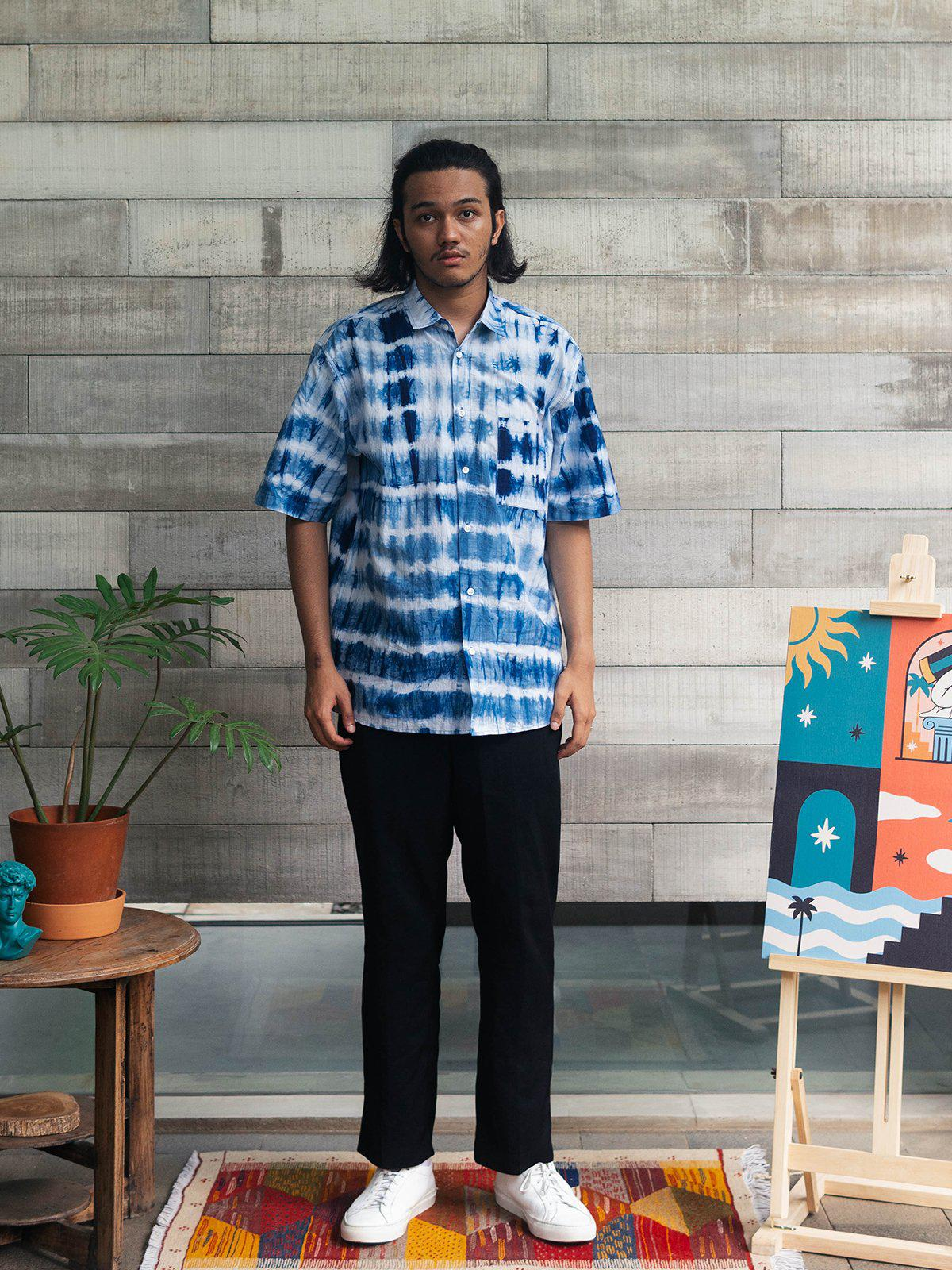 Contentment. Joy Natural Dyed Shirt - MORE by Morello Indonesia