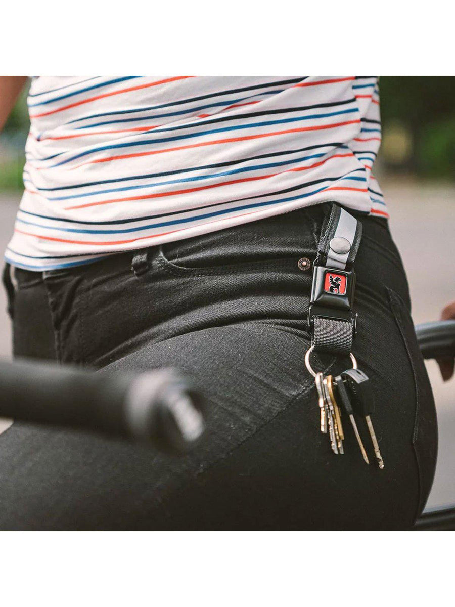 Chrome Industries Mini Buckle Key Chain Black - MORE by Morello Indonesia
