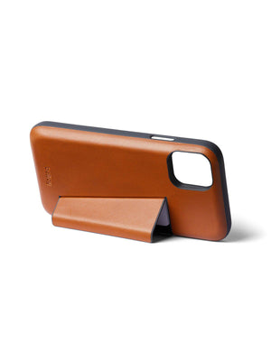 Bellroy Leather Phone Case 3 Card for iPhone 11 Pro Max Caramel - MORE by Morello Indonesia