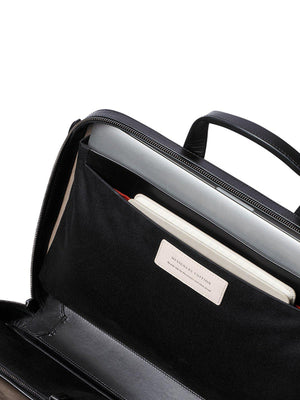 Bellroy Designers Edition Laptop Brief Black - MORE by Morello Indonesia