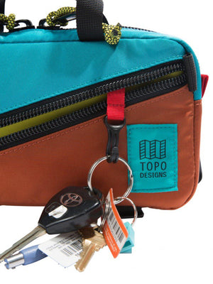 Topo Designs Mini Quick Pack Black Black