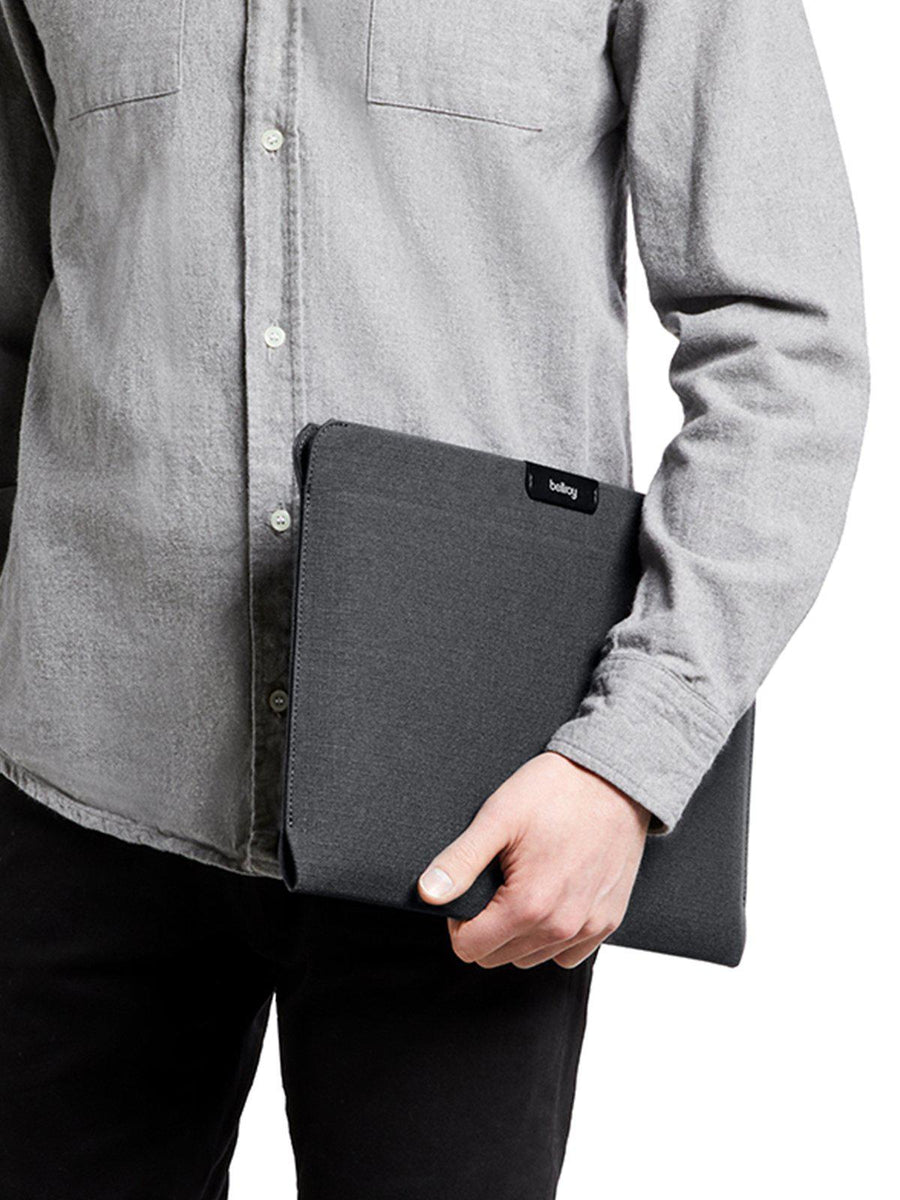 Bellroy Laptop Sleeve 13 Inch Black Recycled - MORE by Morello - Indonesia