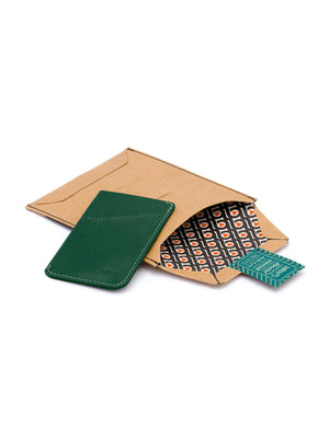 Bellroy Card Sleeve Racing Green - MORE by Morello - Indonesia