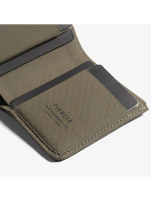 Pioneer Altitude Billfold Wallet 3PN Earth