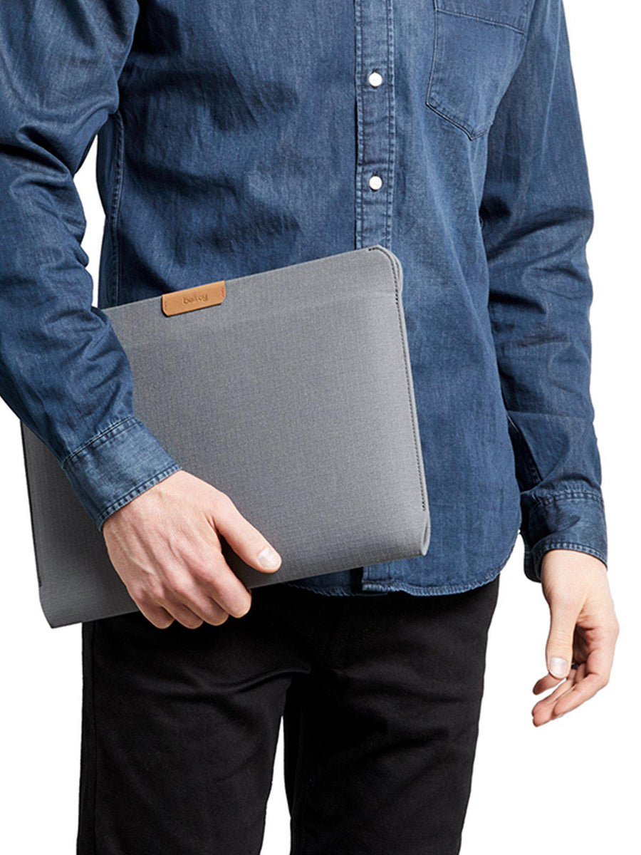 Bellroy Laptop Sleeve 13 Inch Light Grey Recycled - MORE by Morello Indonesia