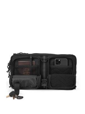 Chrome Industries MXD Segment Sling Bag Black Ballistic - MORE by Morello Indonesia