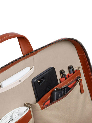 Bellroy Designers Edition Laptop Brief Burnt Sienna - MORE by Morello Indonesia