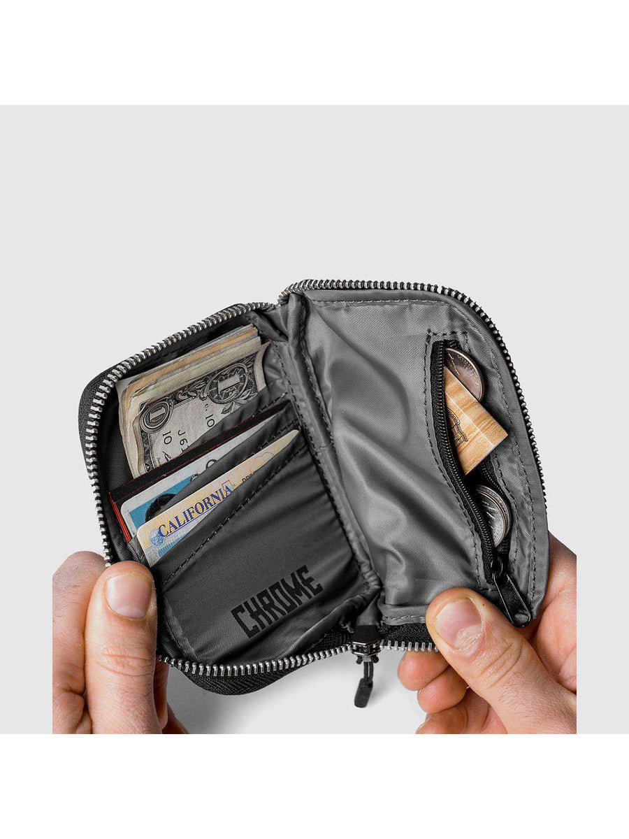 Chrome Industries Zip Wallet Black - MORE by Morello Indonesia