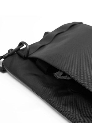 CODEOFBELL ANNEX Liner Sacoche Sling Bag Pitch Black - MORE by Morello Indonesia