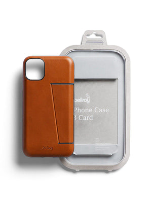Bellroy Leather Phone Case 3 Card for iPhone 11 Pro Caramel - MORE by Morello Indonesia