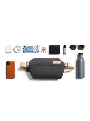 Bellroy Sling Bag Mini Charcoal Recycled - MORE by Morello Indonesia