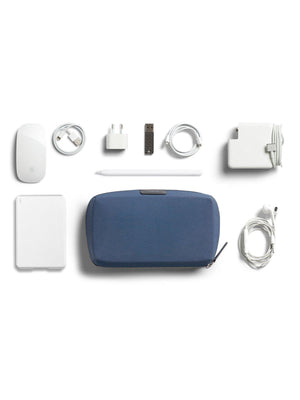 Bellroy Tech Kit Marine Blue Recycled - MORE by Morello Indonesia