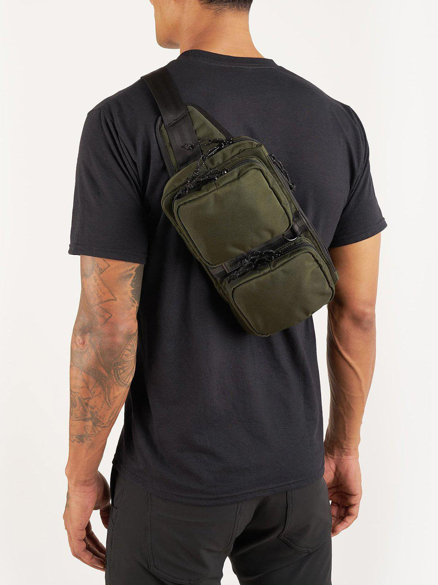 Chrome Industries MXD Notch Sling Bag Olive Ballistic - MORE by Morello Indonesia