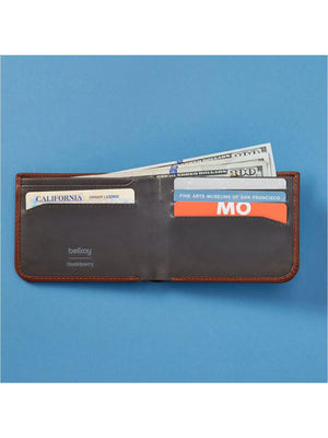 Bellroy x Huckberry Hide and Seek Wallet Cocoa RFID - MORE by Morello - Indonesia