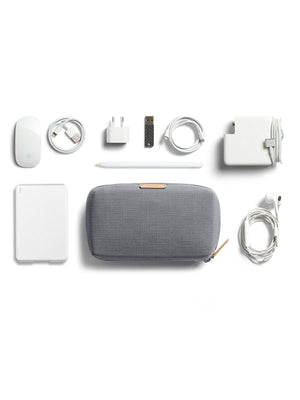 Bellroy Tech Kit Light Grey Recycled - MORE by Morello Indonesia