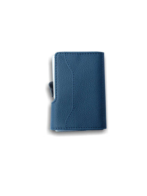 C-Secure PU Leather RFID Wallet Navy - MORE by Morello - Indonesia