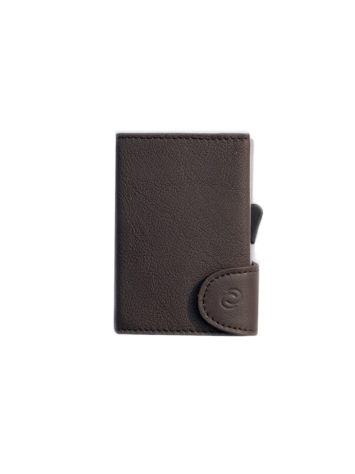 C-Secure Italian Leather RFID Wallet Testa Di Moro - MORE by Morello Indonesia