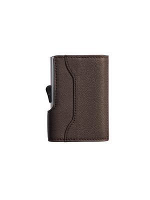 C-Secure Italian Leather RFID Wallet Testa Di Moro - MORE by Morello - Indonesia